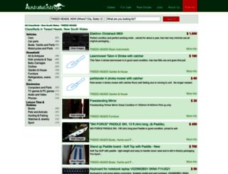 tweed-heads.australialisted.com screenshot