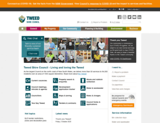 tweed.nsw.gov.au screenshot