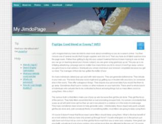 tweetadder36.jimdo.com screenshot
