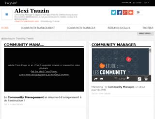 tweets.alexitauzin.com screenshot