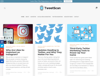 tweetscan.com screenshot
