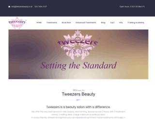 tweezersbeauty.co.uk screenshot