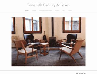 twentiethcenturyantiques.co.uk screenshot