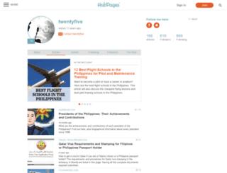 twentyfive.hubpages.com screenshot