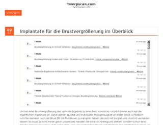 twerpscan.com screenshot