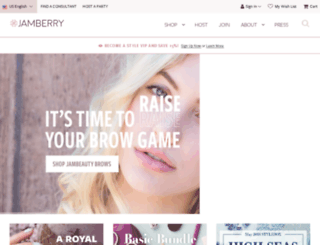 twerve.jamberry.com screenshot