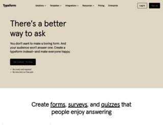twice.typeform.com screenshot