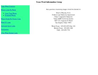 twig.tamu.edu screenshot