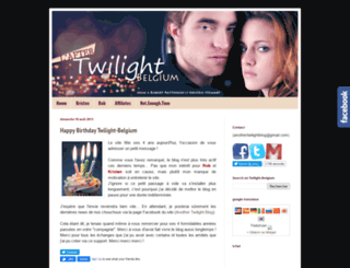 twilight-belgium.blogspot.com screenshot