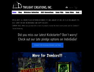 twilightcreationsinc.com screenshot