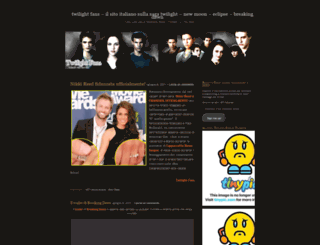 twilightfans.wordpress.com screenshot