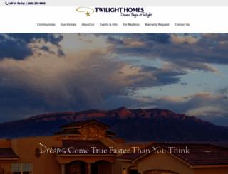 twilighthomesnm.com screenshot