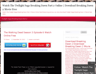 twilightsagabreakingdawn2.com screenshot