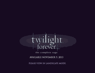 twilightthemovie.com screenshot