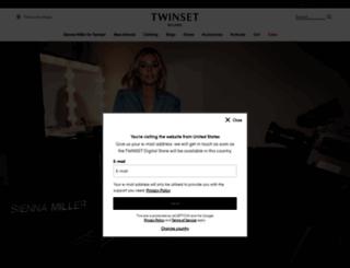 twin-set.com screenshot