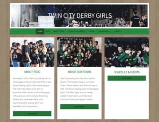 twincityderbygirls.com screenshot