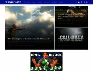 twinfinite.net screenshot