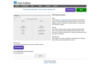 twinfolders.com screenshot
