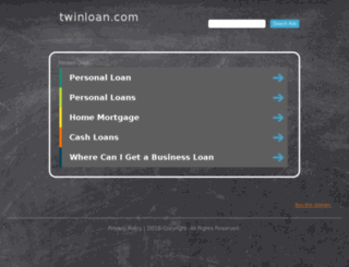 twinloan.com screenshot