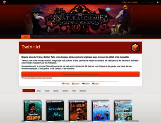 twinoid.fr screenshot