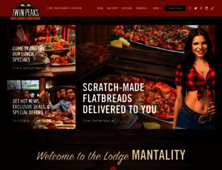 twinpeaksrestaurant.com screenshot