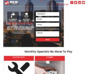 twinplumbersmelbourne.com.au screenshot