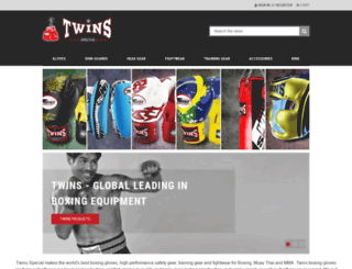 twinsfightgear.com screenshot