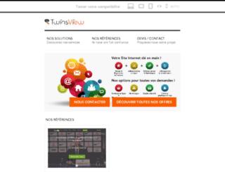 twinsview.fr screenshot