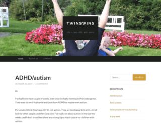 twinswins.wordpress.com screenshot
