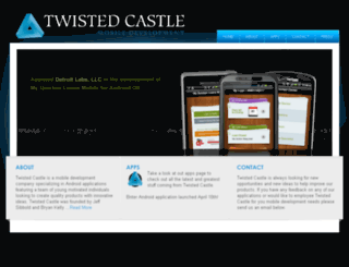twistedcastle.com screenshot