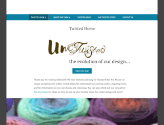 twistedfiberart.com screenshot