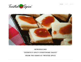 twistedspice.com screenshot