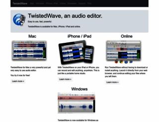 twistedwave.com screenshot
