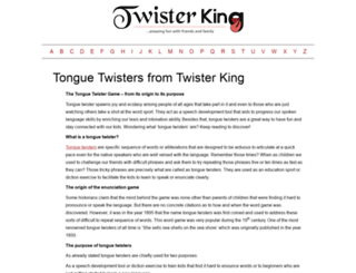 twisterking.com screenshot