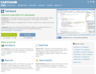 twistpad.com screenshot