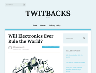 twitbacks.com screenshot
