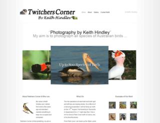 twitcherscorner.com screenshot