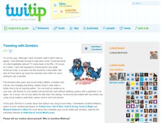 twitip.com screenshot