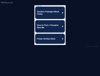 twitney.co.uk screenshot