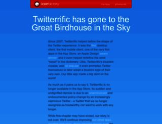 twitterrific.com screenshot