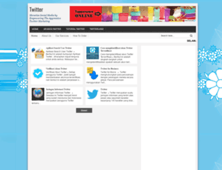 twitterupdate.blogspot.com screenshot