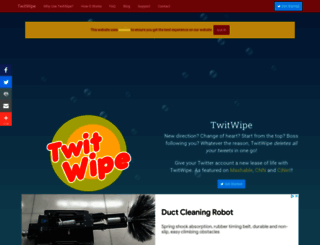 twitwipe.com screenshot