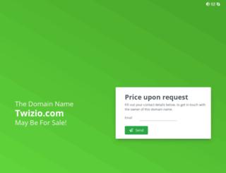 twizio.com screenshot