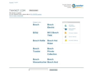 twknot.com screenshot