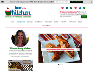 two-in-the-kitchen.com screenshot