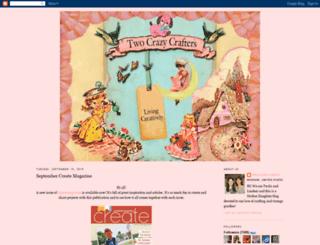 twocrazycrafters.blogspot.com screenshot