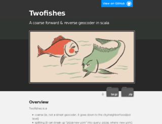 twofishes.net screenshot