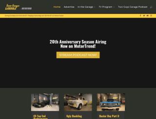 twoguysgarage.com screenshot
