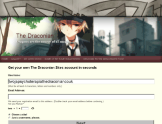 twojapsychoterapia.thedraconian.co.uk screenshot