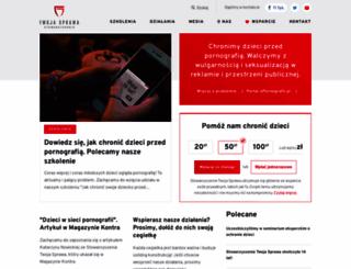 twojasprawa.org.pl screenshot